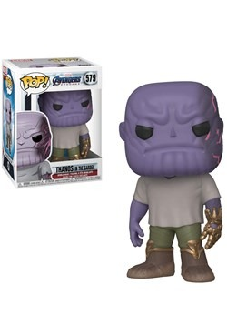 Pop! Marvel: Endgame - Casual Thanos w/ Gauntlet