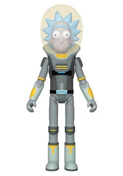 Action Figure: Rick & Morty- Space Suit Rick