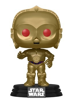 Pop! Star Wars: Rise of Skywalker- C-3PO (Red Eyes)