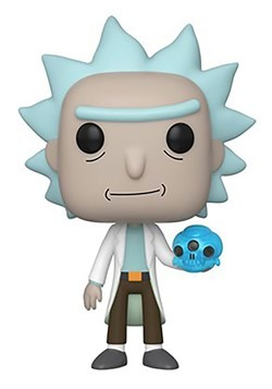 Pop! Animation: Rick & Morty- Rick w/ Crystal Skull