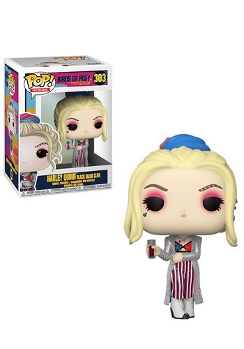 Pop! Heroes: Birds of Prey- Harley Quinn (Black Mask Club)
