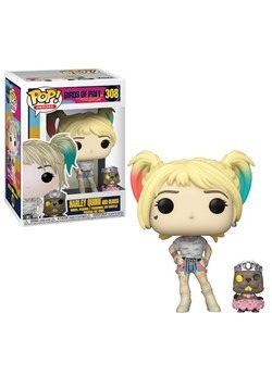 Pop! Heroes: Birds of Prey- Harley Quinn w/ Beaver