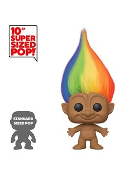 "Pop! Trolls: Trolls Classic- 10"" Multicolored Hair Alt 2"