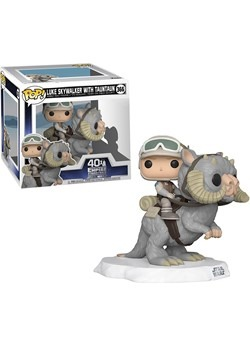 POP Deluxe: Star Wars- Luke on Taun Taun