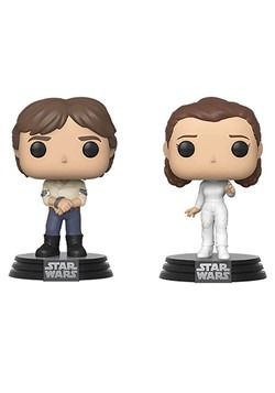 POP! Star Wars - 2PK Han & Leia Alt 1