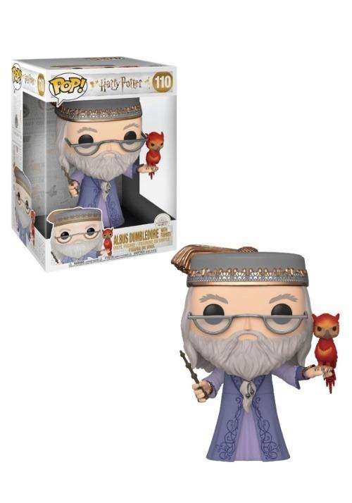 "POP HP: Harry Potter- 10"" Dumbledore w/Fawkes"