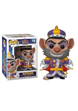 Ratigan from The Great Mouse Detective Pop Disney