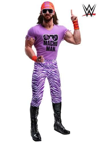 WWE Adult Macho Man Madness Plus Size Costume