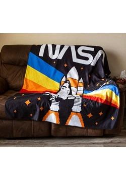"NASA Rainbow 50"" x 60"" Lightweight Fleece Blanket Alt 1"