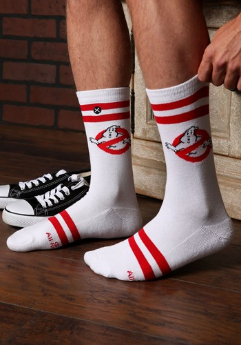 Ghostbusters Varsity Knit Adult Crew Socks