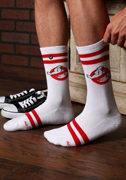 Ghostbusters Varsity Knit Adult Crew Socks