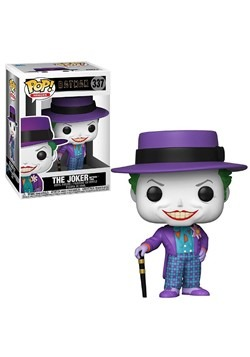 Pop! Heroes: Batman 1989 - Joker w/ Hat w/ Chase