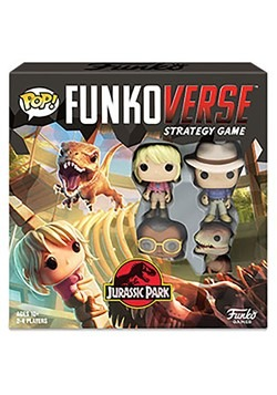 Pop! Funkoverse: Jurassic Park 100 - Strategy Game