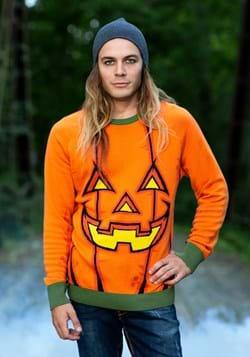 Adult Pumpkin Ugly Halloween Sweater