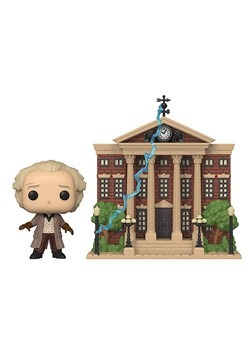 POP Town: BTTF- Doc w/ Clock Tower