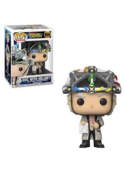 POP Movie: BTTF- Doc w/ Helmet