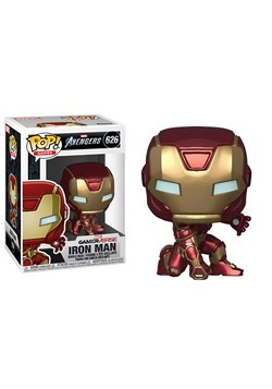 Pop Marvel Avengers Game Iron Man Stark Tech Suit