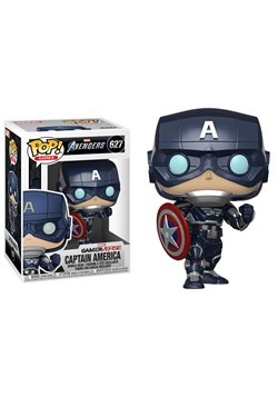 Pop Marvel Avengers Game Captain America Stark Tech Suit