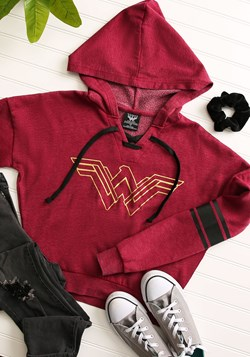 Wonder Woman Burnout Pullover Hoodie update