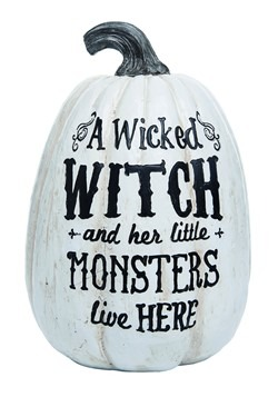 Resin Witch Pumpkin