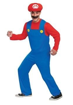 Adult Super Mario Classic Mario Costume
