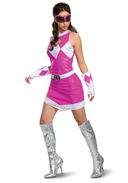 Women's Power Rangers Deluxe Pink Ranger Costume