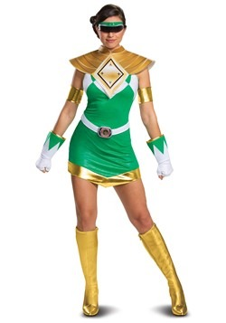 Women's Power Rangers Deluxe Green Ranger Costume