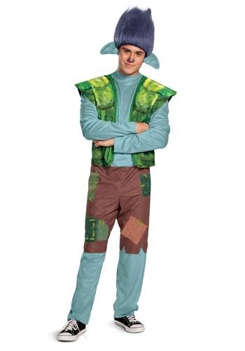 Trolls World Tour Mens Branch Costume
