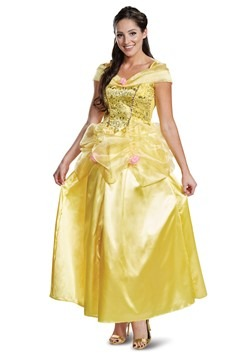 Beauty & The Beast Adult Deluxe Classic Belle Cost