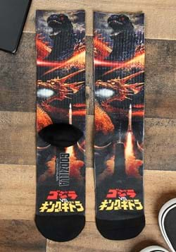 Godzilla Men's Sublimated Socks Main