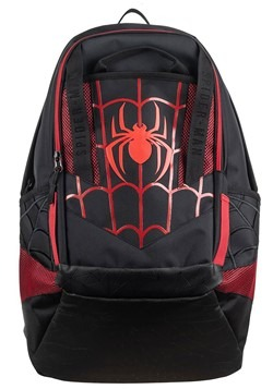 Spiderman Black and Red Laptop Backpack