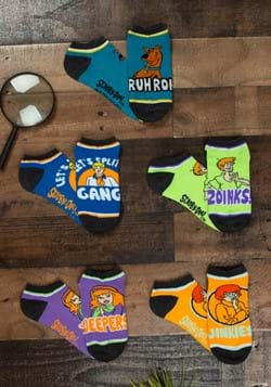 Scooby Doo 5 Pair Ankle Socks