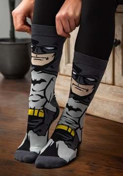 Batman Dark Knight 360 Character Crew Sock