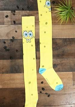 Spongebob Squarepants Over The Knee Sock