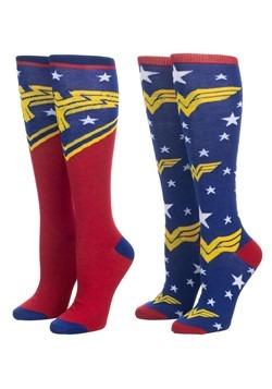 Wonder Woman 2 Pair Pack Knee High Socks