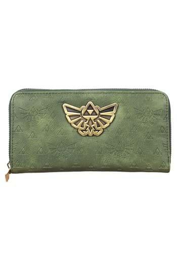 Zelda PU Zip Around Wallet