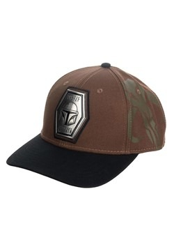 Star Wars The Mandalorian Pre-Curved Snapback