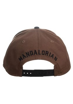 Star Wars The Mandalorian Pre-Curved Snapback Alt 1
