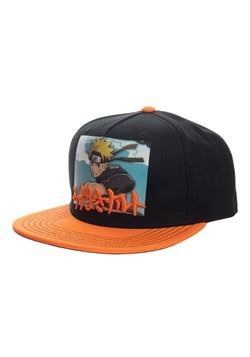 Naruto Printed Screenshot with Embrodiery Snapback