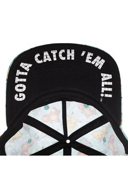 Pokemon All Over Character Snapback Alt 2