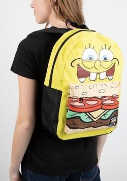 Spongebob Squarepants Crabby Patty Mixbock Backpack Alt 2
