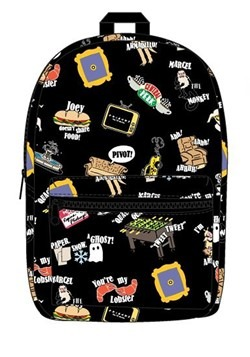 Friends Icon Print Sublimated Backpack