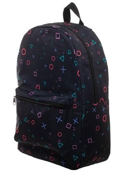 Playstaion All Over Print Sublimated Backpack Alt 1