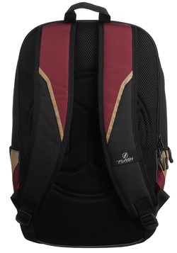 The Flash Black and Maroon Backpack Alt 3