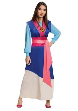 Disney Mulan Blue Dress Costume for Women