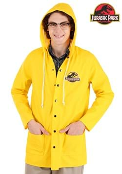 Adult Jurassic Park Yellow Raincoat Costume