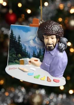 Bob Ross Painting Ornament