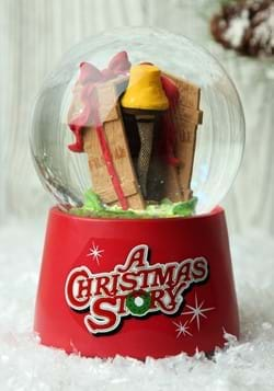 A Christmas Story Windup Musical Water Globe
