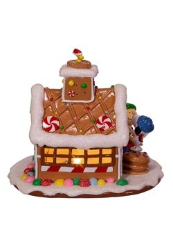 Peanuts Gingerbread House Tablepiece Alt 2