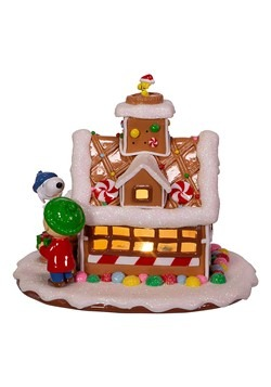 Peanuts Gingerbread House Tablepiece Alt 3